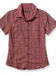 patagonia shirt rossa