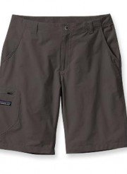 patagonia rock guide short gray