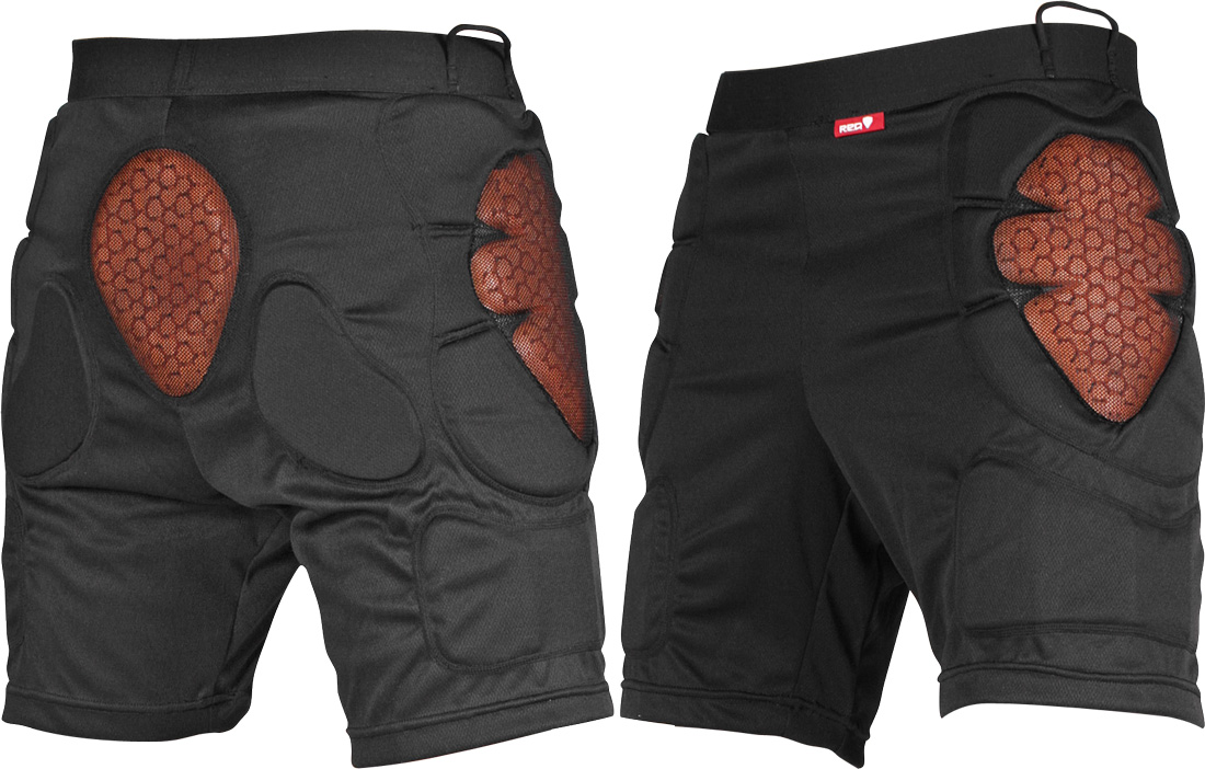 red total impact short1