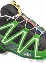 salomon speedcross 3  nera verde