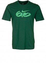 nike  t-shirt logo verde
