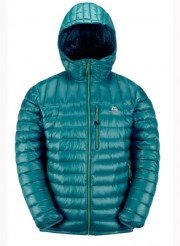 Mountain Equipment Arete-Hooded-Jacket blu