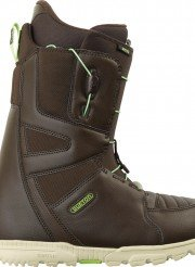 burton moto-snowboardschuh--brown-green--2014