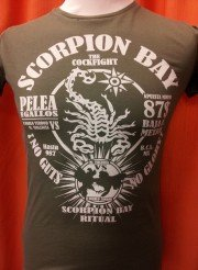 scorpioo bay t-shirt ritual frontale