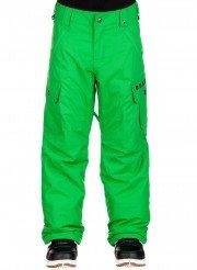 burton Exile+Cargo+Pants+Boys verde front