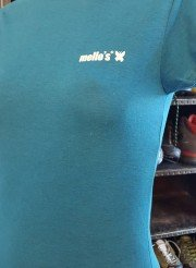 mello's t shirt donna azzurra front